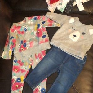 2 casual baby girl outfits